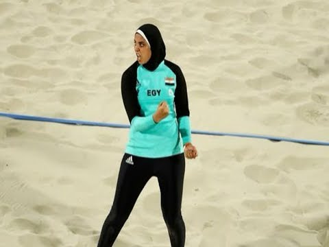 19-Year-Old Egyptian Player Doaa Elghobashy Is Turning Perceptions Of The Sport Playing In Her Hijab