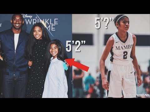 Kobe Bryant Daughter Gianna Bryant INSANE! Growth As a 12 Year Old & TOP Player In Her Class?