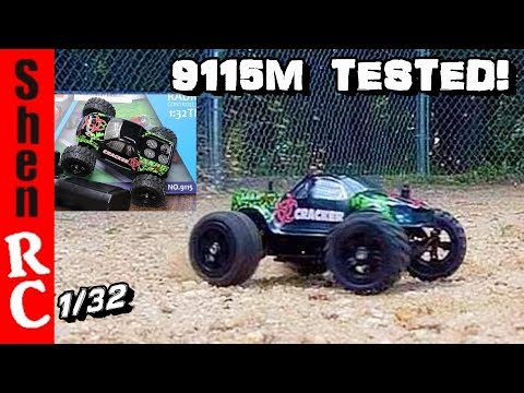 9115M 1:32 RC MICRO TRUCK virhuck TEST REVIEW