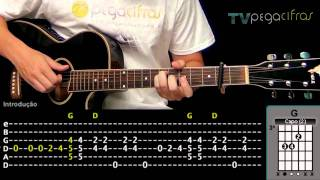 Jason Mraz - I Won't Give Up (Aula de violão) - TV Pega Cifras