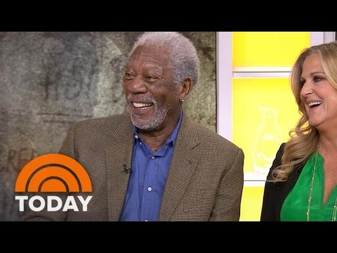 Morgan Freeman On Traveling The Globe, Telling 'Story Of God' In Miniseries | TODAY