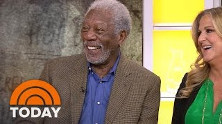 Morgan Freeman On Traveling The Globe, Telling 'Story Of God' In Miniseries   TODAY