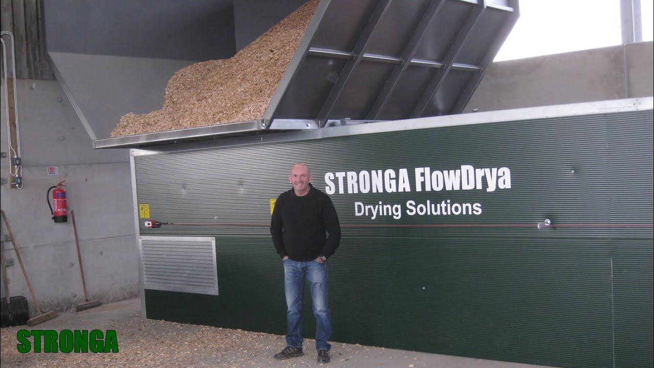 Stronga | Callendar Estate, Schottland | Hackschnitzel Trocknung ...