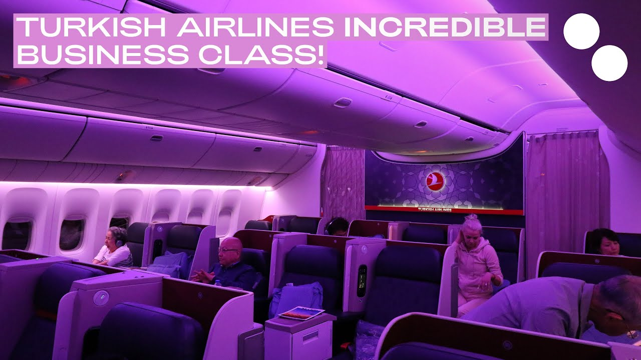 Turkish Airlines Business Class TURKISH AIRLINE...