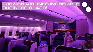 TURKISH AIRLINES B777-300ER NEW BUSINESS CLASS TOKYO - ISTANBUL