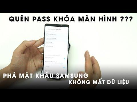 Phá mật khẩu màn hình máy Samsung không mất dữ liệu quá dễ - Nghenhinvietnam.vn