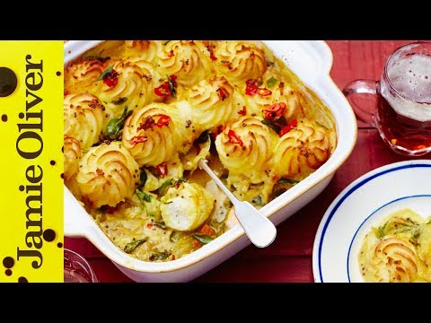 Curried Fish Pie | Jamie & Buddy Oliver