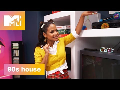 90's Media Room: Remember Tamagotchis? | 90's House: Hosted by Lance Bass & Christina Milian | MTV