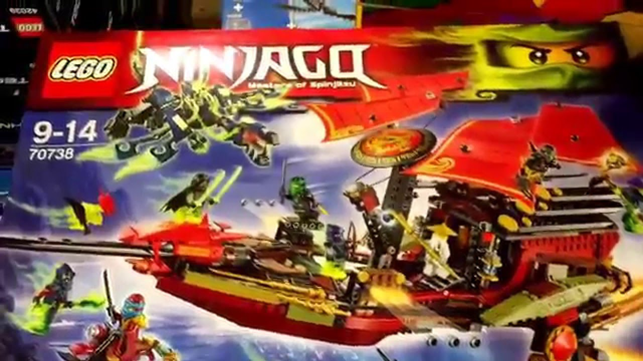 lego 70738 ninjago der letzte flug des ninjaflugseglers