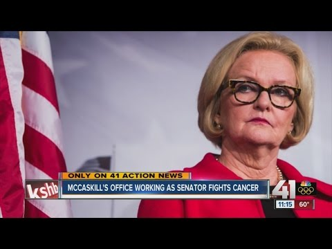 McCaskill's office marches on as senator fights cancer
