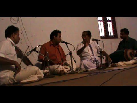 Ragas Charukeshi/Bhagesri, Kalamandalam Gangadharan & Kalamandalam Vinod