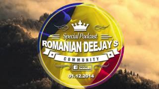 Romanian Deejays Community Special Podcast (1st December 2014)