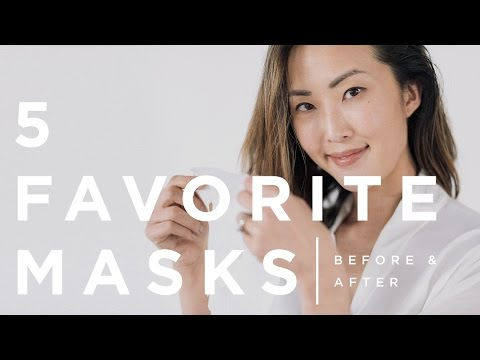 My Top 5 Masks - Before & After | Chriselle Lim
