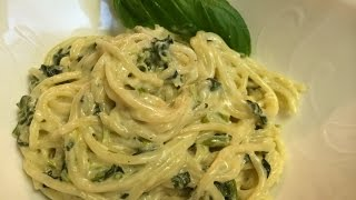 Spinach Artichoke Pasta Recipe (vegetarian) - Dollar Tree Gourmet!