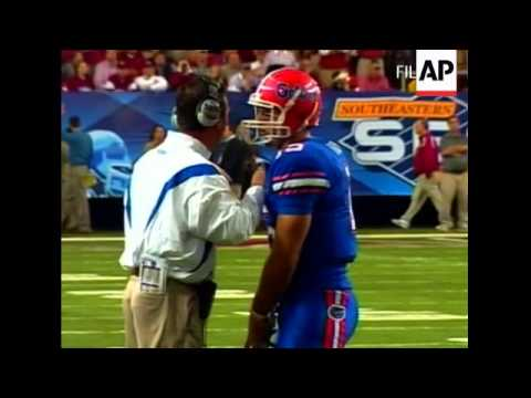 Florida quarterback Tim Tebow suffered a concussion last Saturday against Kentucky. AP College Footb