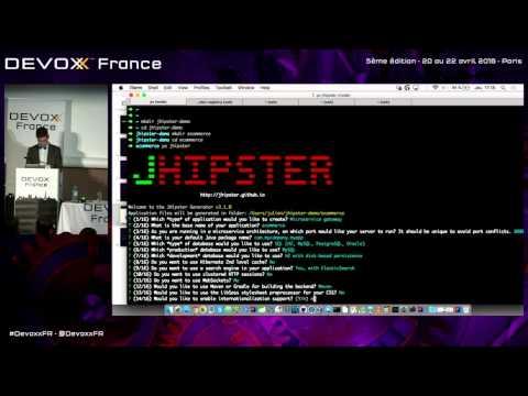Quoi de neuf pour JHipster en 2016 (French)