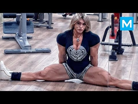 Biggest Russian Female Bodybuilder – Nataliya Kuznetsova | Muscle Madness