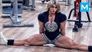 Biggest Russian Female Bodybuilder - Nataliya Kuznetsova | Mus…