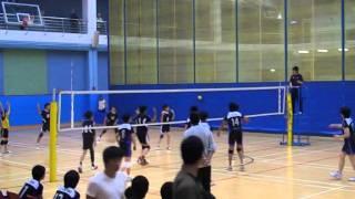 2009-10香港學界(第一組)男子排球丙組決賽長天對拔萃