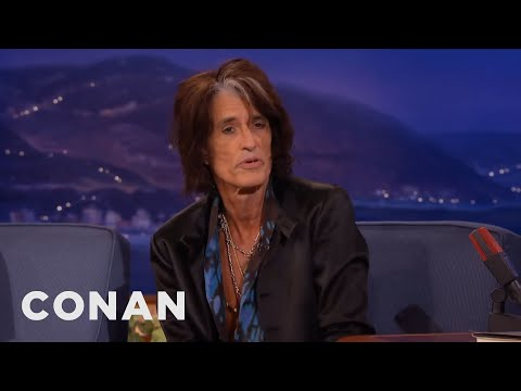 Slash Gave Joe Perry Back His Prized Guitar  - CONAN on TBS Mp3