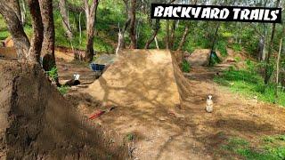 Dream Backyard DIRT JUMPS? Update Video