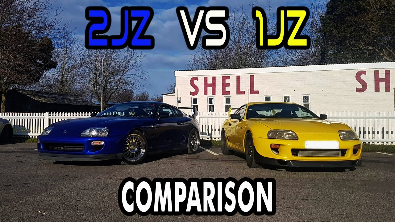 Toyota Supra Mk4 2jz Amp 1jz Comparison Youtube