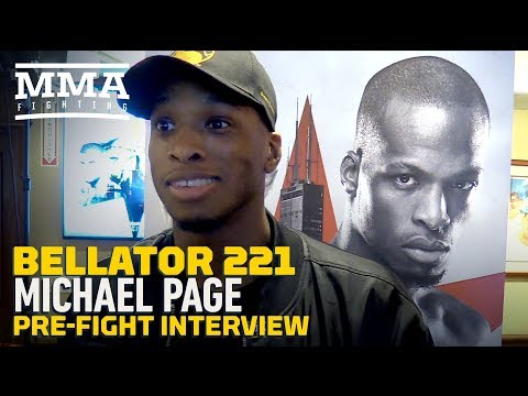 Bellator 221: Michael Page Understands 'Obvious Comparisons' To Israel Adesanya And Anderson Silva