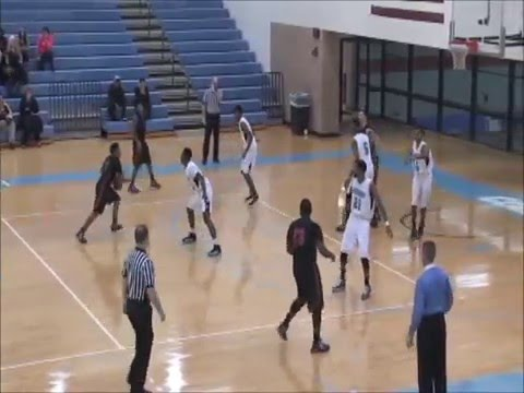 Men's Basketball @ Kalamazoo Valley Community College Game Highlights (12/18/15)