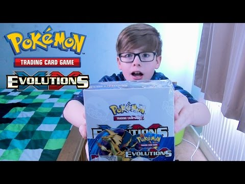 Unboxing XY Evolutions Booster Box + Opening 9 Booster Packs | Pokemon TCG