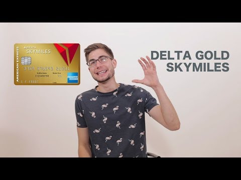 American Express® Delta Gold Skymiles Review - UPDATED AMEX Credit Card Review