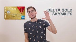 Delta Gold SkyMiles Credit Card 💺 Benefits Worth it ? (American Express)