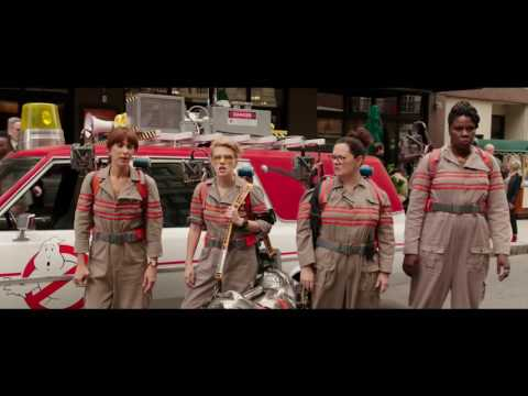 Ghostbusters back then and now.