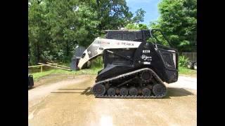 For Sale 2011 Terex PT100G Forestry Skid Steer Track Loader Cab High bidadoo.com