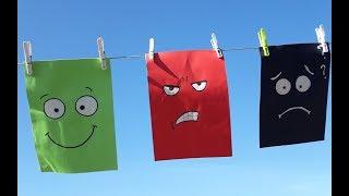 Lessive de couleurs Eléa Zalé chanson pour enfants sur le thème des couleurs, des émotions