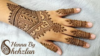 henna by shehzlan how to henna tutorial 120 heavy - Henna Muster Fur Anfanger