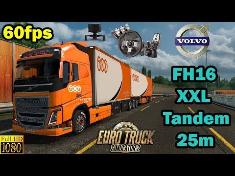 ETS 2 - Volvo XXL Tandem 25m