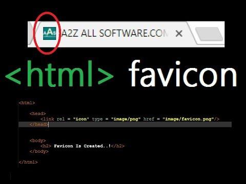 How To Create A Html Favicon Icon