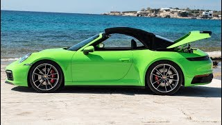 2020 Porsche 911 Carrera S Cabriolet Lizard Green - Pure Driving Pleasure