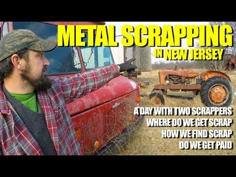 Metal Scrapping in New Jersey Exploring Abandoned Barn and Farm