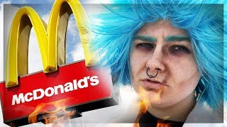 The WORST Rick and Morty Fans | McDonald
