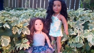How To Crochet A Doll Shirt And Dress