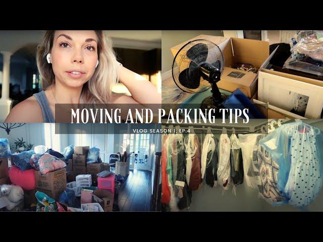 Moving Vlog | Packing Tips