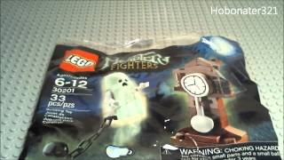 Building The Lego Monster Fighters Polybag (ghost & Clock) 30201
