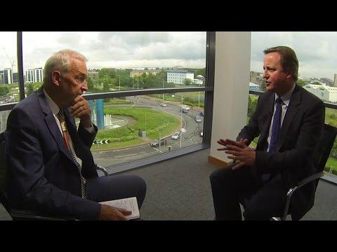 David Cameron: Jon Snow full interview on EU referendum and election expenses
