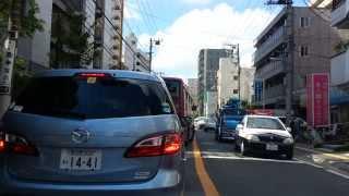 交差点でパトカーと行き違える。(車載動画)市川市Chiba,Japan. thumbnail