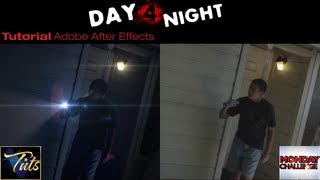 How To DAY FOR NIGHT EFFECT In Adobe After Effects | IP Tuts