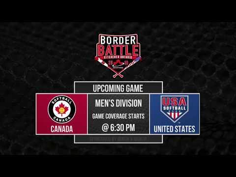 10th Annual Men's Border Battle: Canada Vs USA
