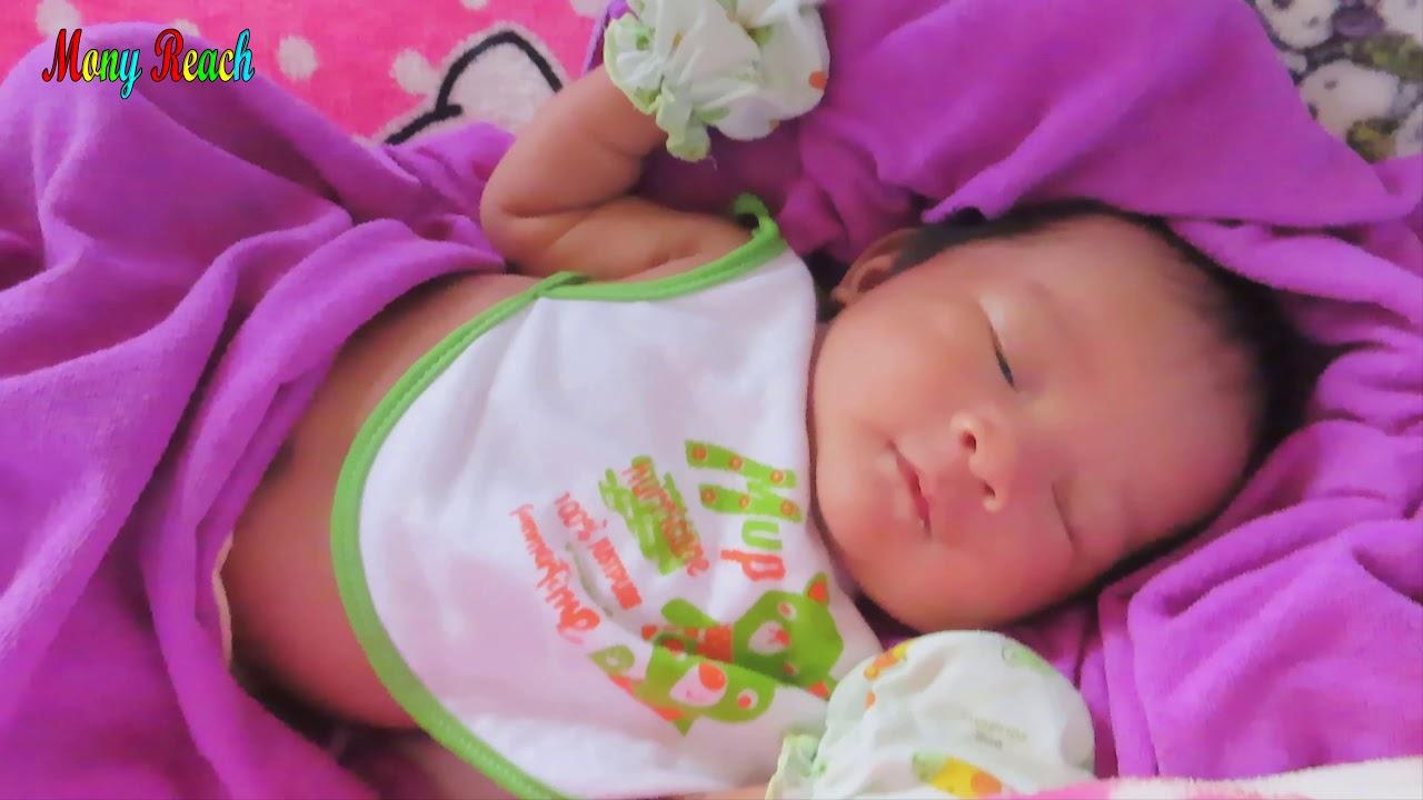 Mony Reach Baby Sleep Cute Baby Video