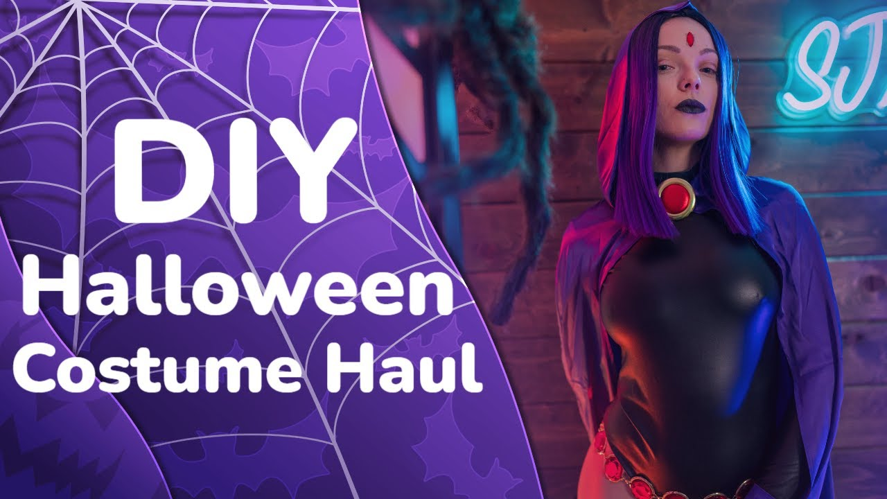 DIY - Halloween Costume Ideas - Haul & Review