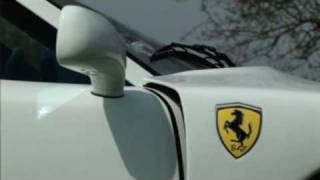 Chris Evans White Collection Ferrari F40 offered for sale by Talacrest